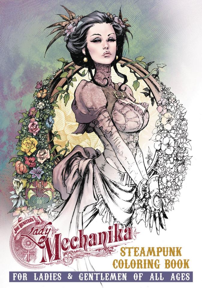 Lady Mechanika: Steampunk Coloring Book Vol. 2
