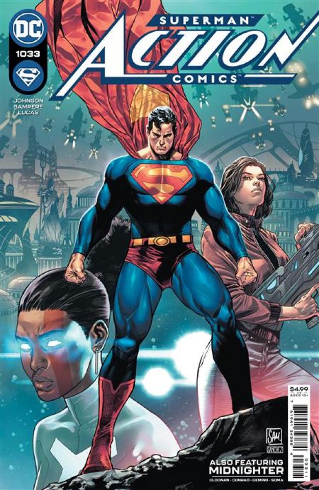 Action Comics #1033 (Daniel Sampere Cover)