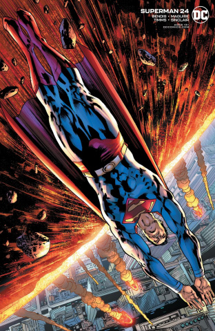 Superman #24 (Bryan Hitch Cover)