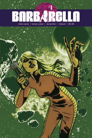 Barbarella #1 (DeLandro Cover)