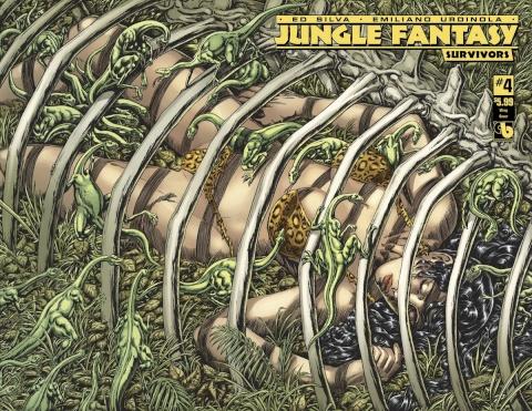Jungle Fantasy: Survivors #4 (Wrap Cover)
