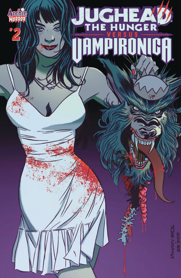 Jughead: The Hunger vs. Vampironica #2 (Pat & Tim Kennedy Cover)
