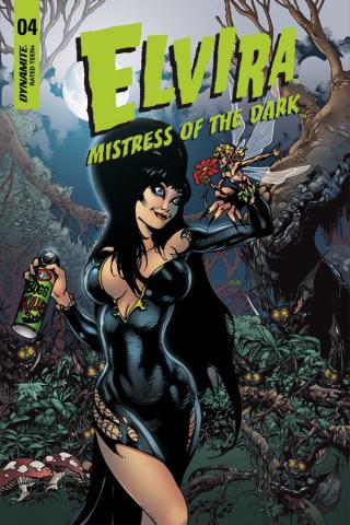 Elvira: Mistress of the Dark #4 (5 Copy Castro Cover)