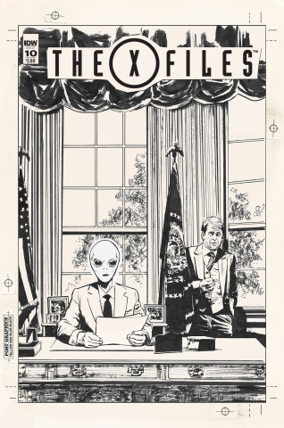 The X-Files #10 (Artist's Edition)