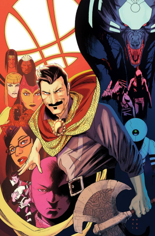 Doctor Strange #6 (Anka Story Thus Far Cover)