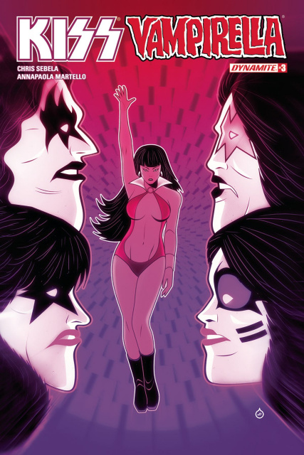 KISS / Vampirella #3 (Doe Cover)