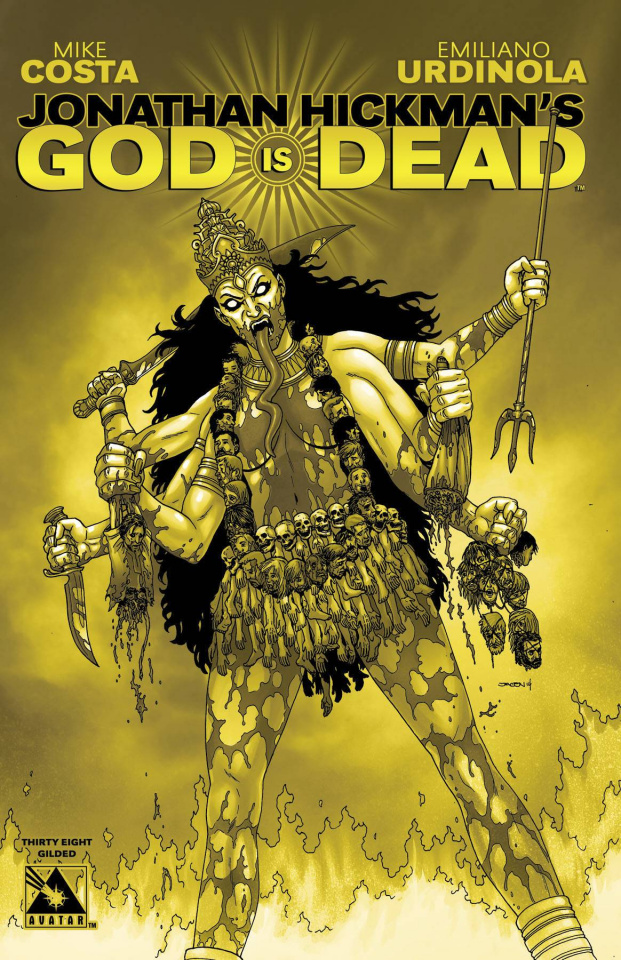 God Is Dead #38 (Gilded Retailer Cover)