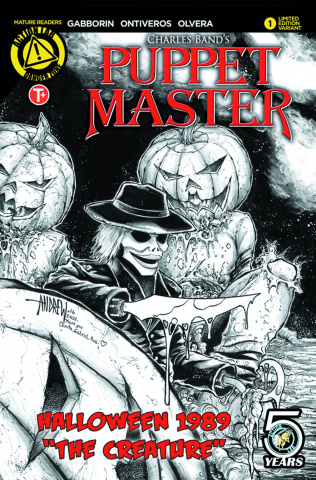 Puppet Master Halloween 1989 Special (Mangum Sketch Cover)