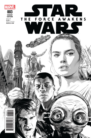 Star Wars: The Force Awakens #3 (Deodato Sketch Cover)