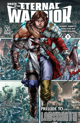 Wrath of the Eternal Warrior #5 (Ryp Cover)