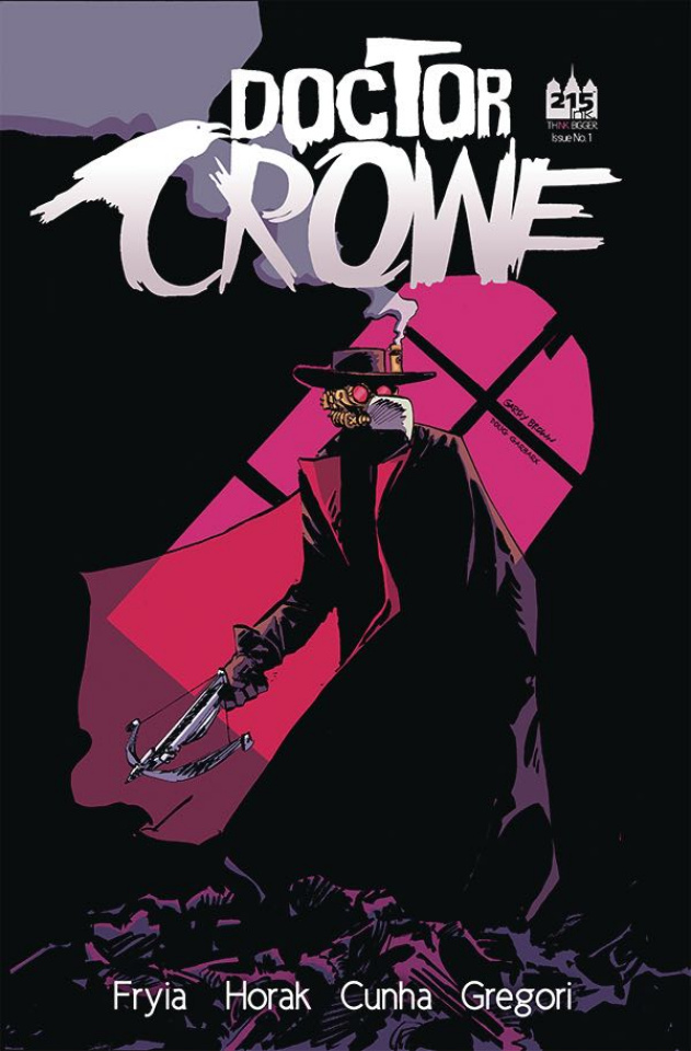 Doctor Crowe #1 (Cunha Cover)