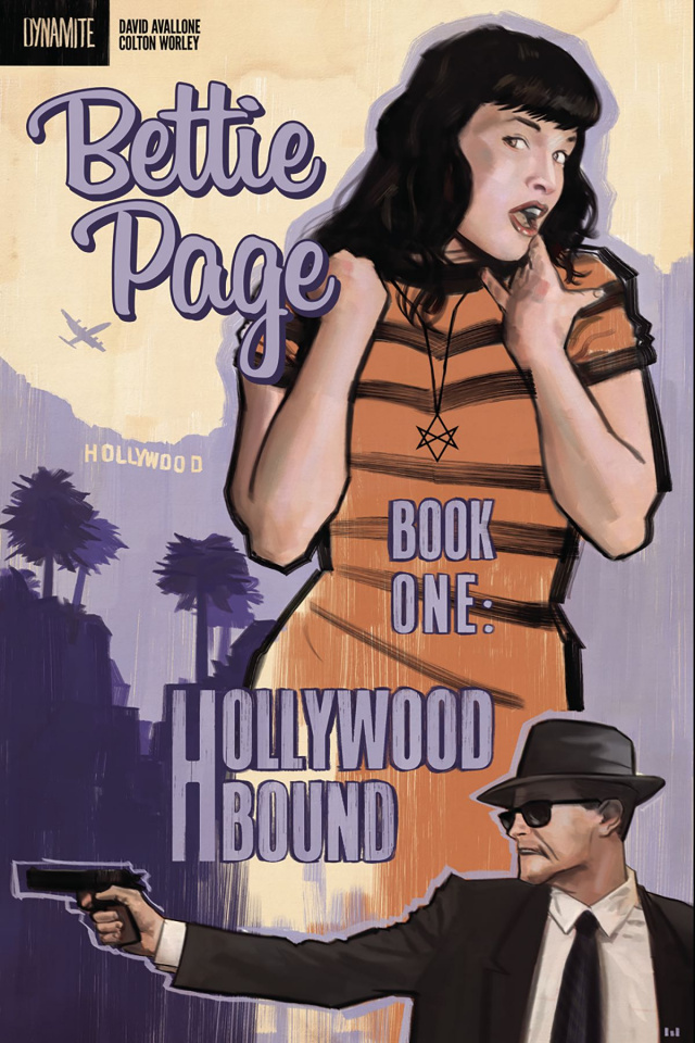 Bettie Page #1 (Worley Subscription Cover)
