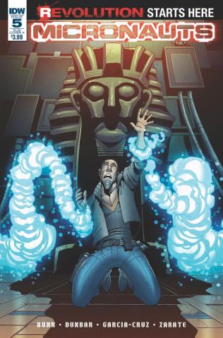 Micronauts #5 (Subscription Cover)