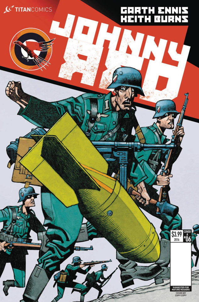 Johnny Red #6 (McMahon Cover)