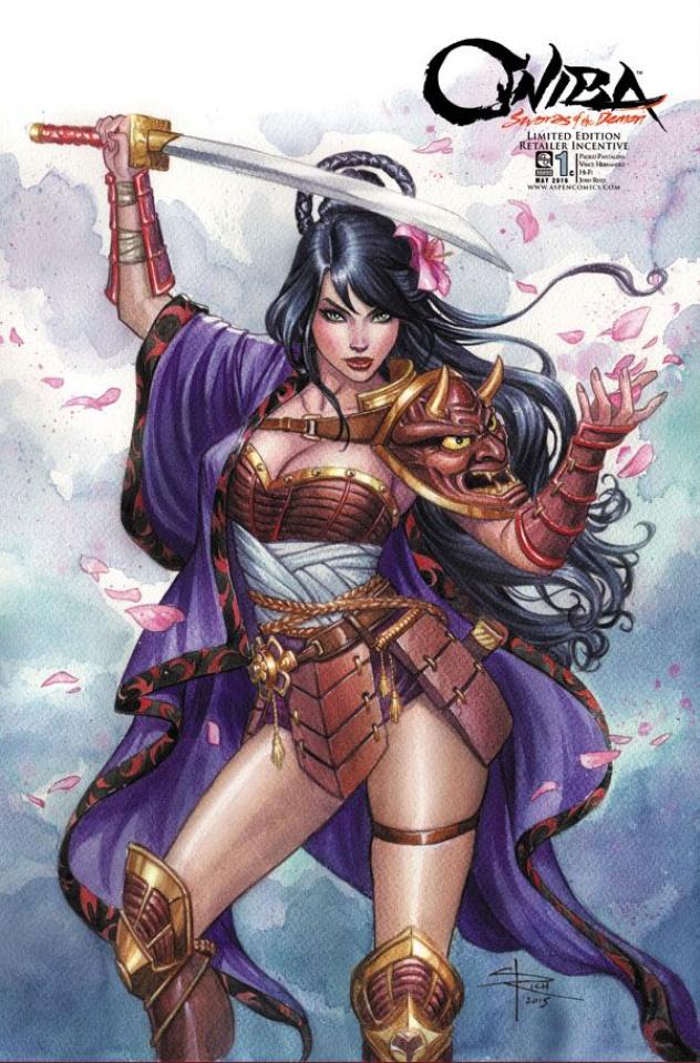 Oniba: Swords of the Demon #1 (10 Copy Cover)