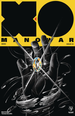 X-O Manowar #23 (Manomivibul Cover)