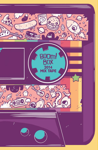 BOOM! Box 2014 Mix Tape #1 (10 Copy Lawrence Cover)