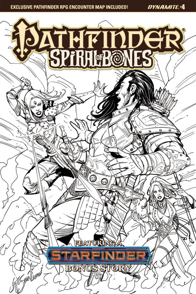 Pathfinder: Spiral of Bones #4 (20 Copy Santucci Cover)