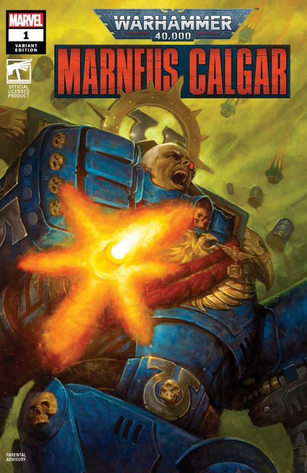 Warhammer 40,000: Marneus Calgar #1 (Gist Cover)