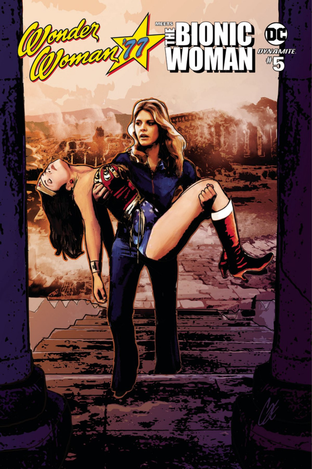 Wonder Woman '77 Meets The Bionic Woman #5 (Staggs Cover)