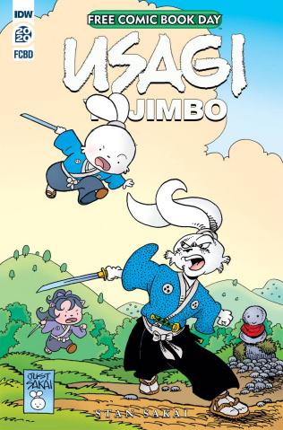 Usagi Yojimbo (Free Comic Book Day 2020)