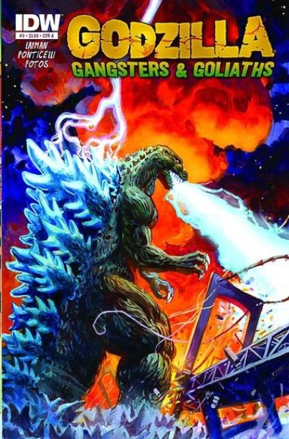 Godzilla: Gangsters & Goliaths #3