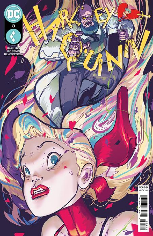 Harley Quinn #3 (Riley Rossmo Cover)