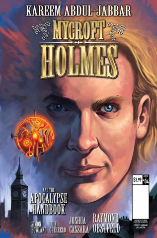 Mycroft Holmes #4 (Laclaustra Cover)