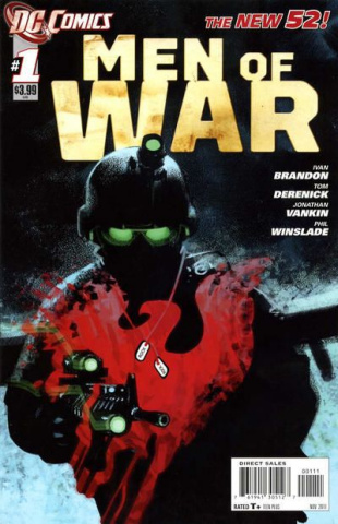 Men of War #1 (2nd Printing)