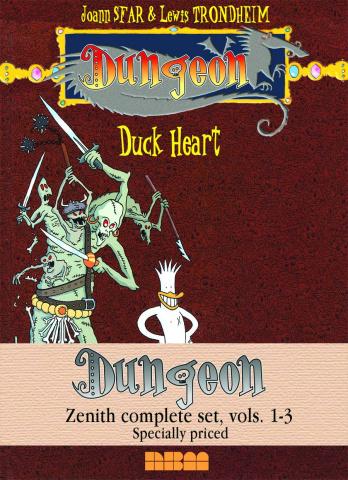 Dungeon Vols. 1-3 (Zenith Complete Set)