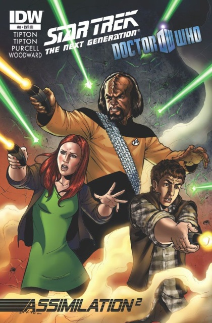 Star Trek: The Next Generation/Doctor Who - Assimilation #8