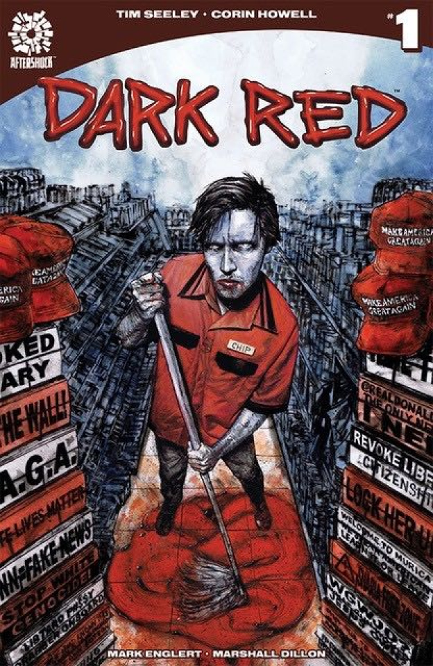 Dark Red #1 (Aaron Campbell Cover)