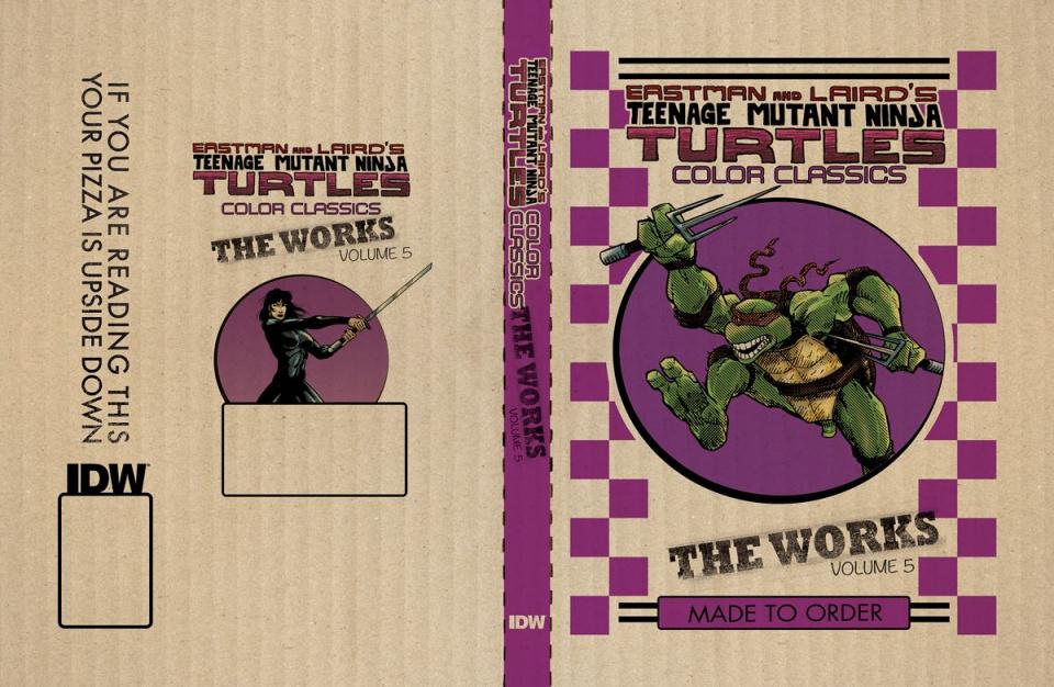 Teenage Mutant Ninja Turtles: The Works Vol. 5