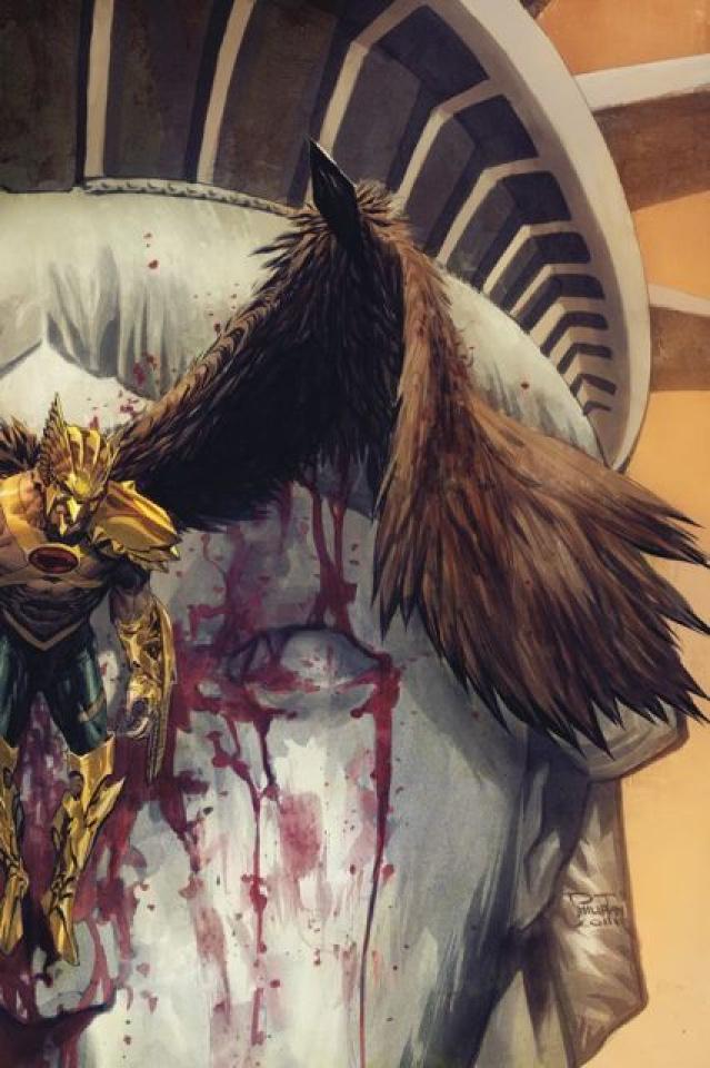 The Savage Hawkman #4