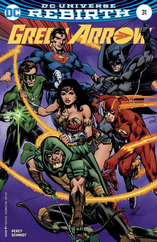 Green Arrow #31 (Variant Cover)