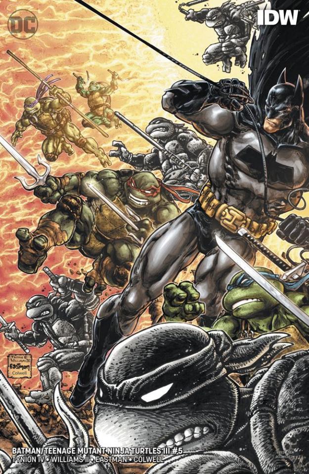 Batman / Teenage Mutant Ninja Turtles III #5 (Variant Cover)
