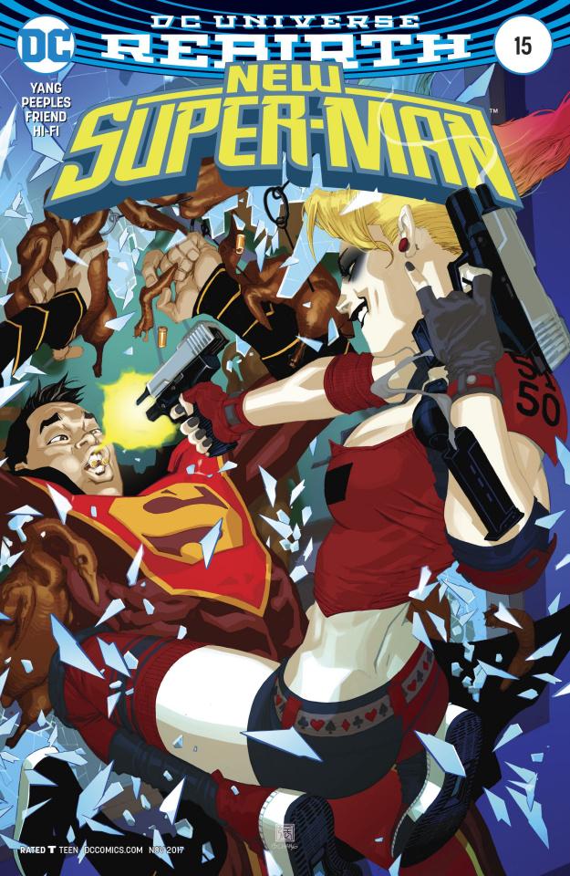 New Super-Man #15 (Variant Cover)