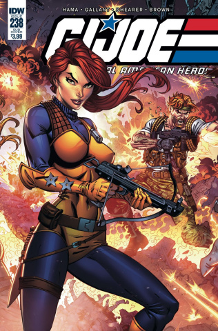 G.I. Joe: A Real American Hero #238 (Subscription Cover)