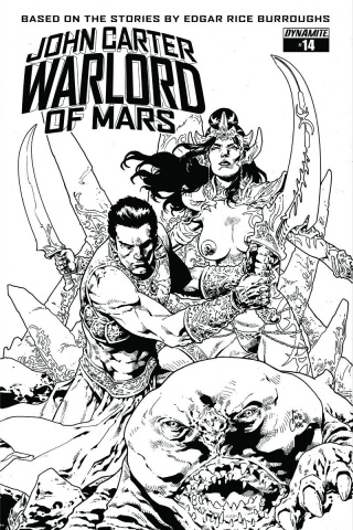 John Carter: Warlord of Mars #14 (10 Copy Cover)