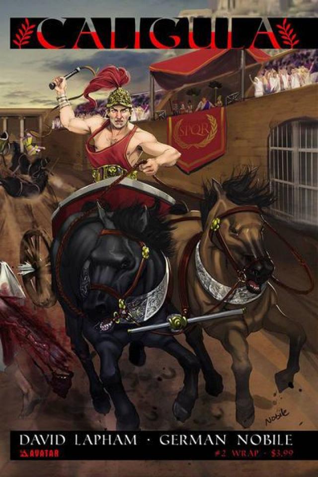 Caligula #2 (Wrap Cover)