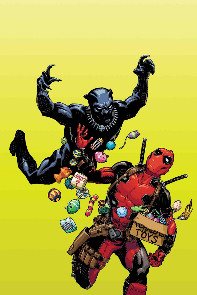 Black Panther vs. Deadpool #1 (Hamner Cover)
