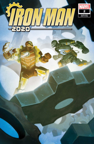 Iron Man 2020 #2 (Del Mundo Cover)