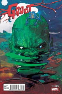 Groot #5 (Ward Kirby Monster Cover)