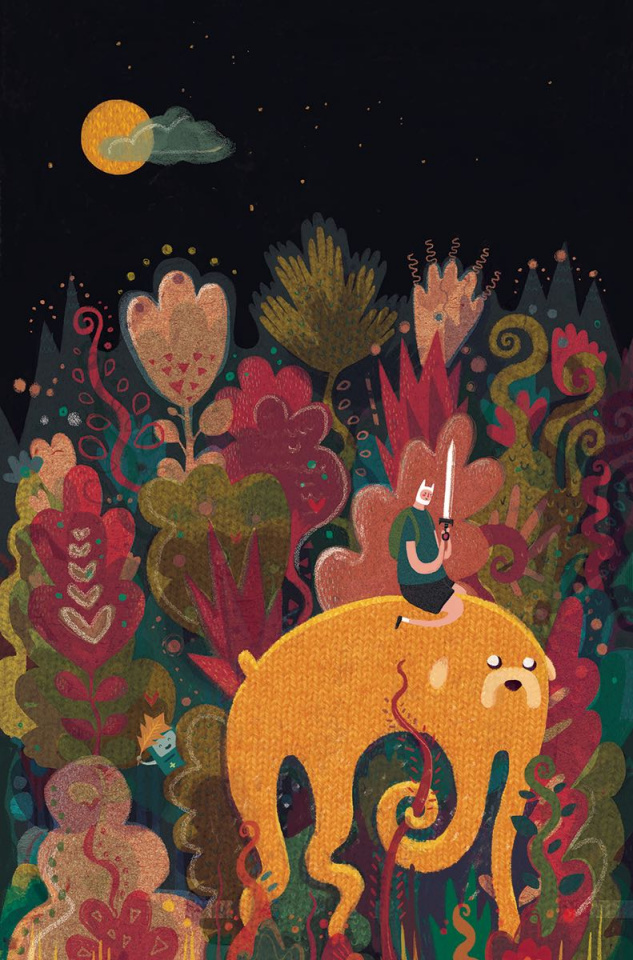 Adventure Time Comics #3 (Subscription Ross Cover)