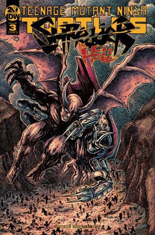 Teenage Mutant Ninja Turtles: Shredder in Hell #3 (Eastman Cover)