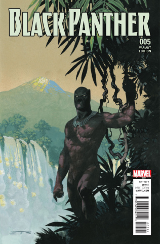Black Panther #5 (Ribic Connecting Cover)