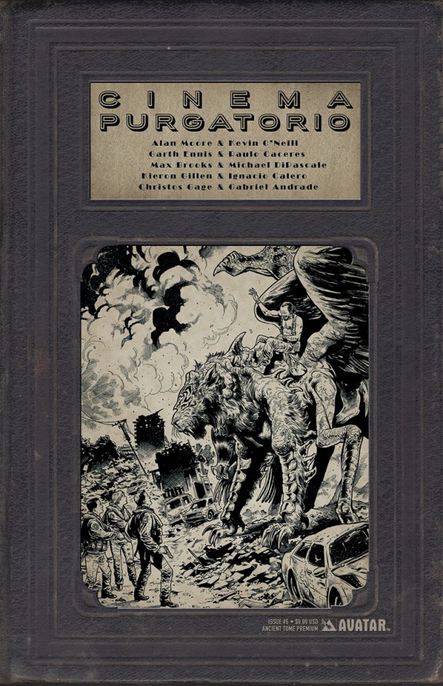 Cinema Purgatorio #5 (Ancient Tome Premium Cover)
