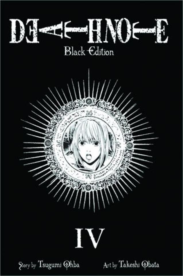 Death Note Vol. 4 (Black Edition)