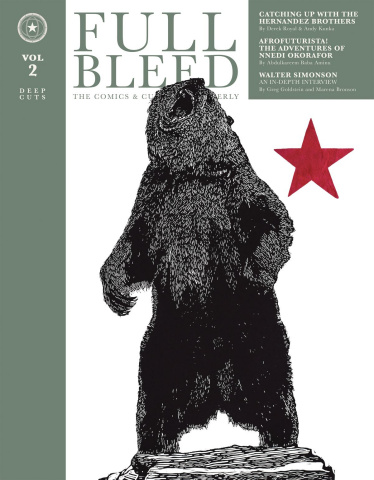 Full Bleed: The Comics & Culture Quarterly Vol. 2
