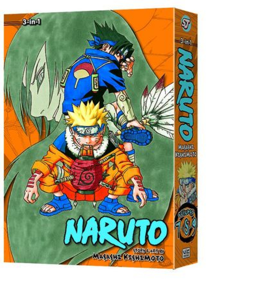 Naruto Vol. 3 (3-In-1 Ed.)